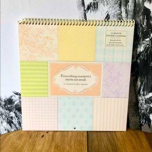 Baby's 1st Year Milestones Calendar Keepsake